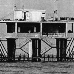 The micronation Isola delle Rose, in 1968